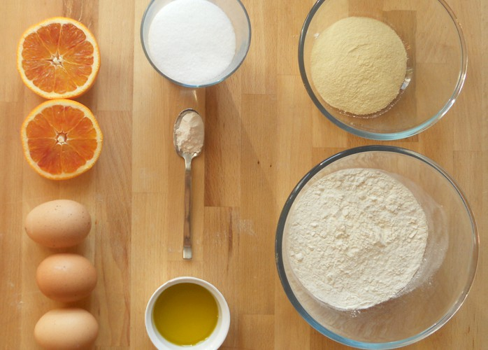Plumcake all'arancia zero lattosio