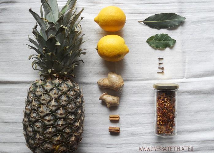 Chutney all'ananas: piccante, dolce e salato