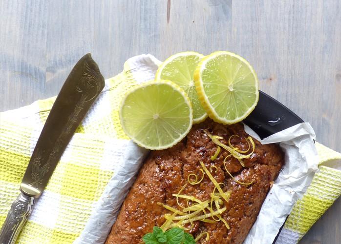 Plumcake al limone e semi di papavero senza burro