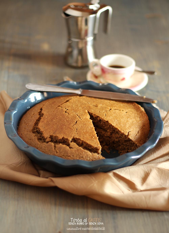 torta al caffè senza uova