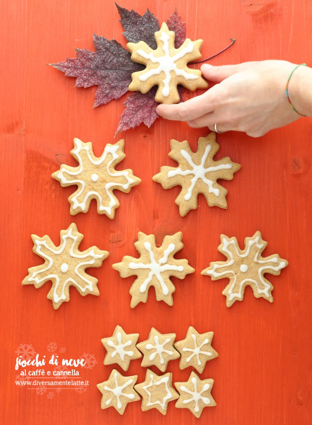 biscotti natalizi al caffè e cannella