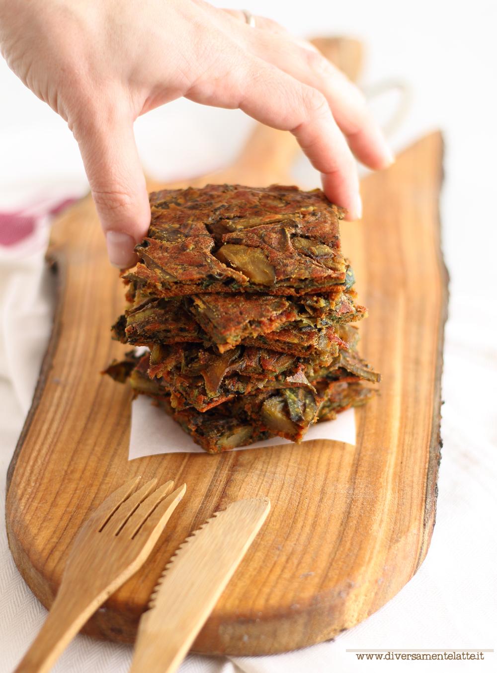 farifrittata al forno ricetta vegan
