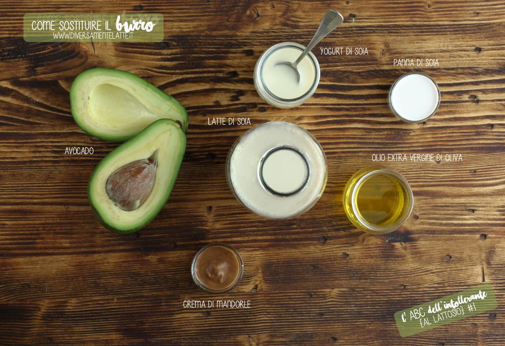 ingredienti che sostituiscono il burro
