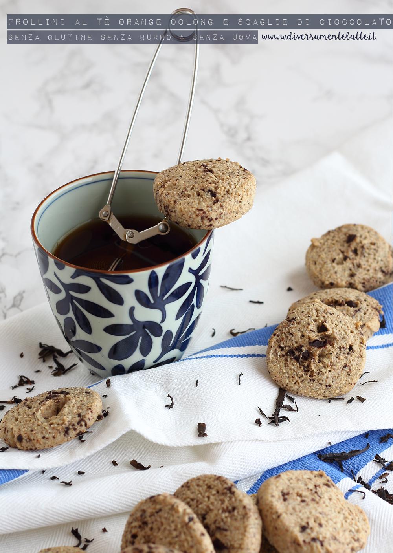 frollini al tè orange e cioccolato senza glutine