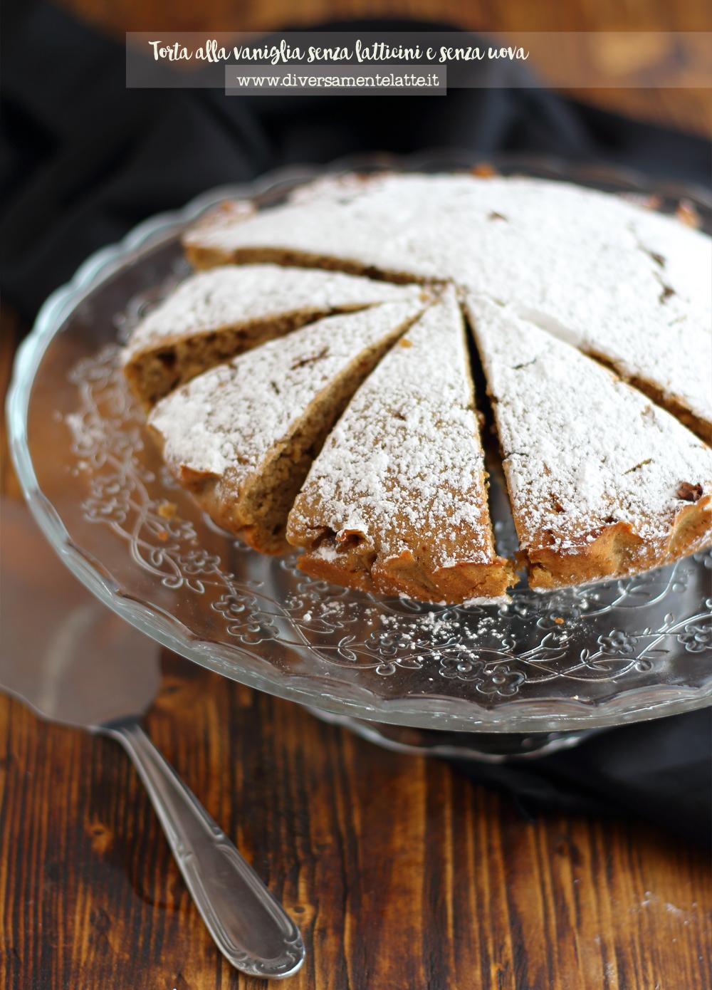 torta alla vaniglia