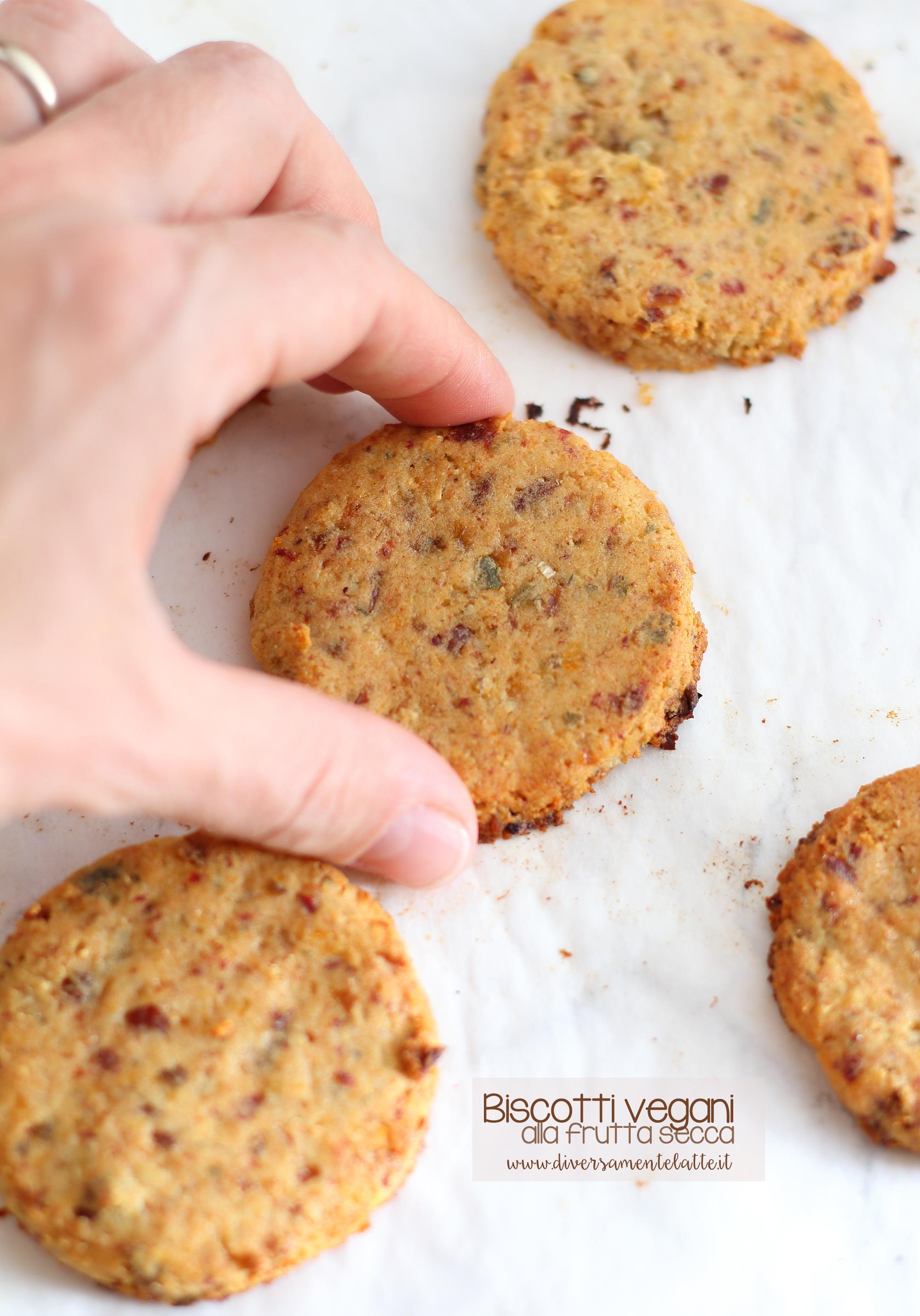 biscotti vegani frutta secca
