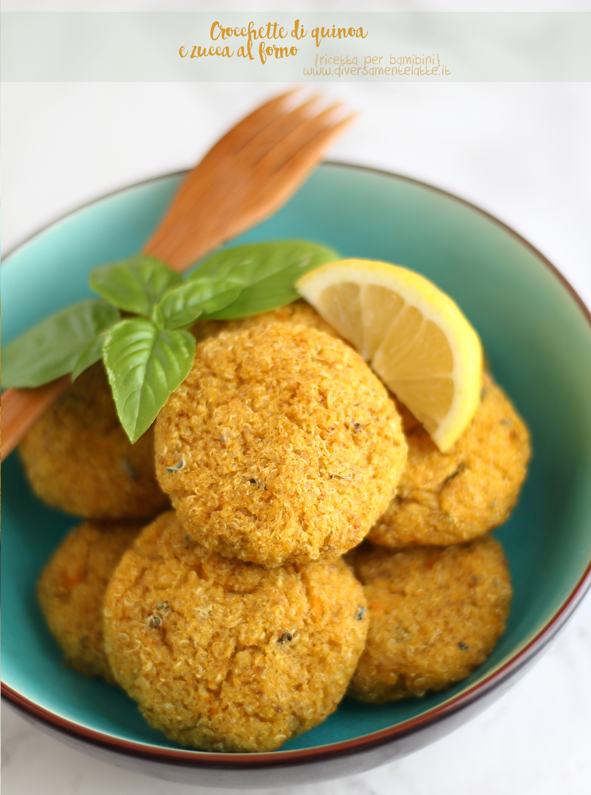 crocchette di quinoa senza lattosio