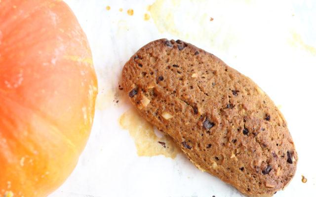 Biscotti alla zucca speziati senza lattosio