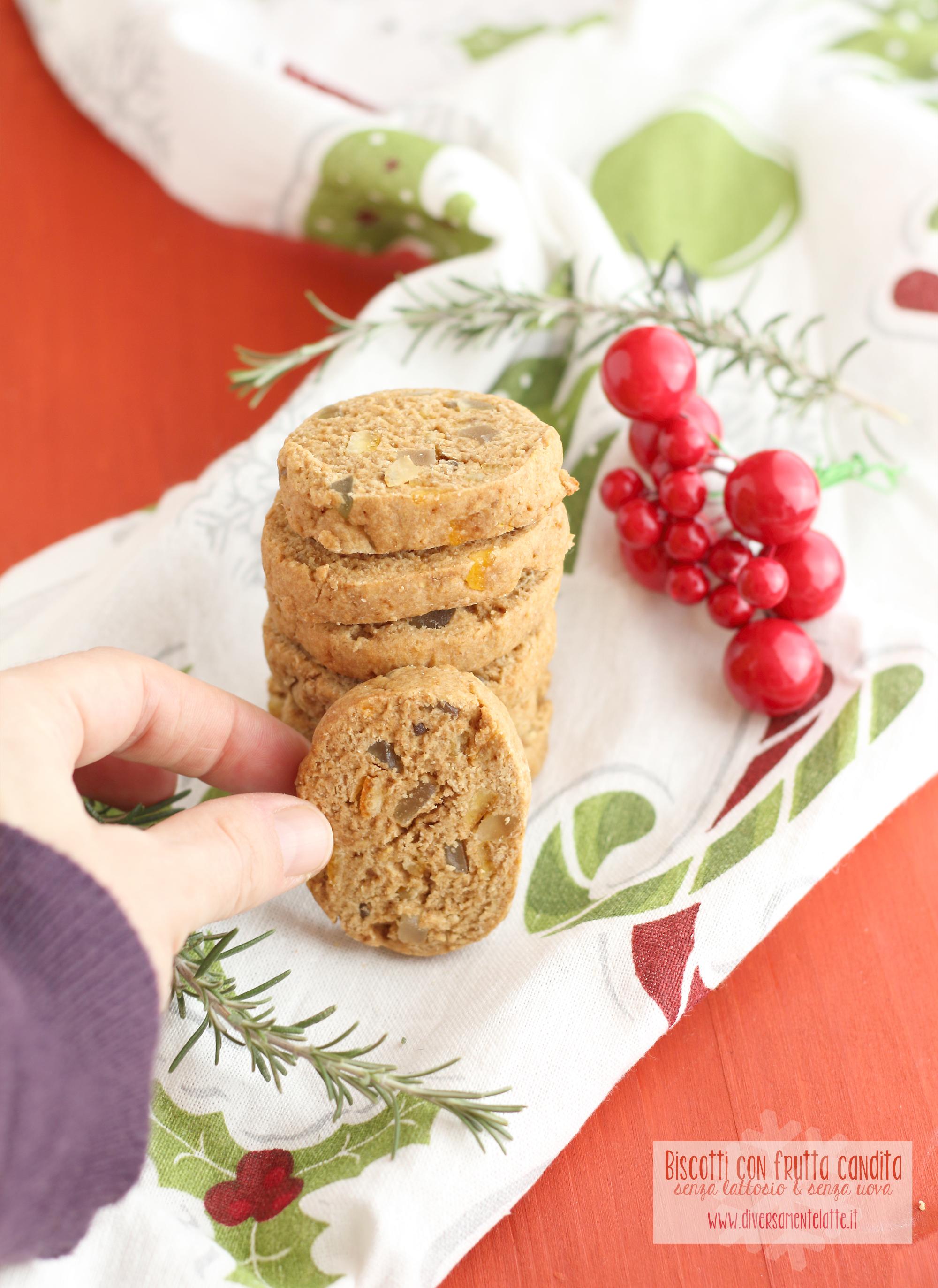 biscotti con canditi