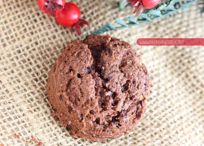 Biscotti al doppio cioccolato e zenzero
