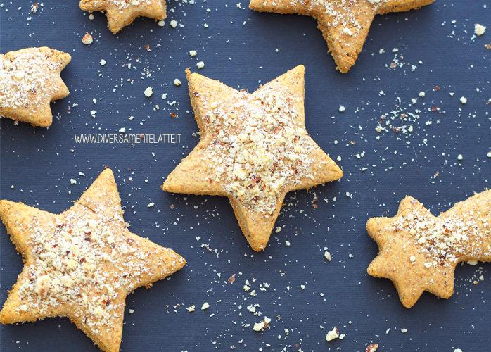 Biscotti di Natale speziati senza lattosio