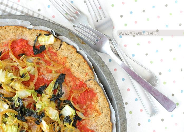 Pizza di cavolfiore, ricetta vegan