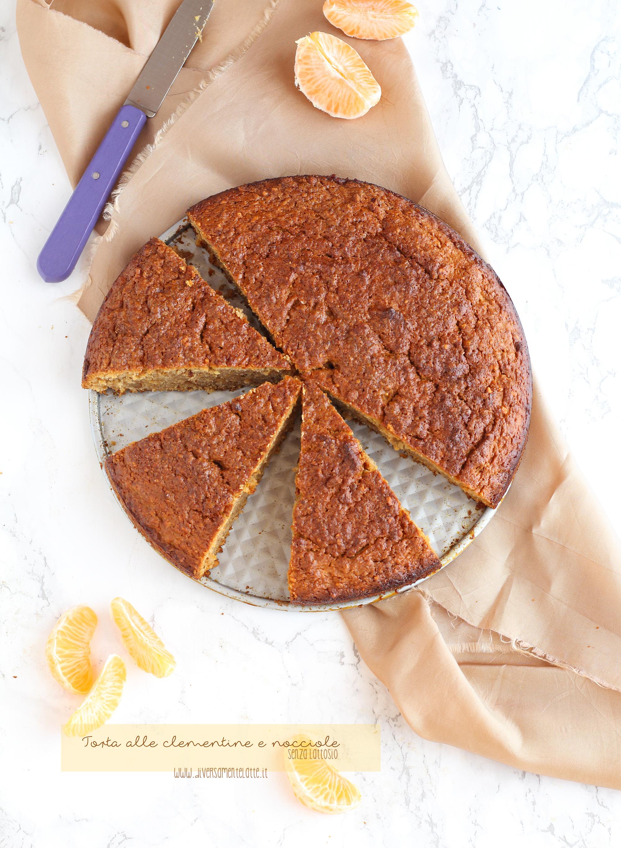 torta clementine nocciole
