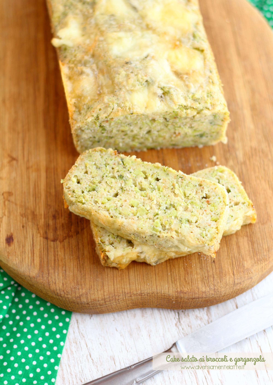 cake salato broccoli senza lattosio