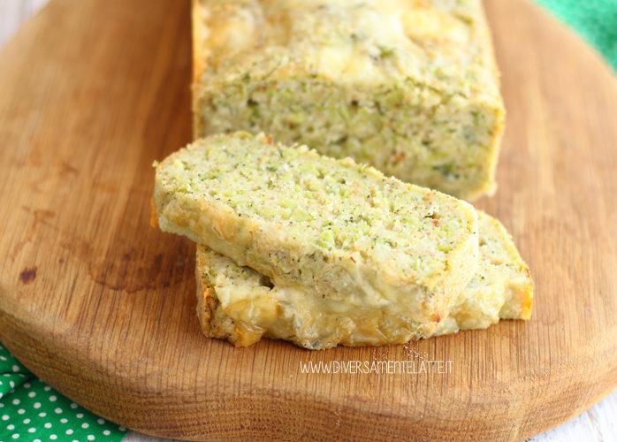 Cake salato ai broccoli e gorgonzola