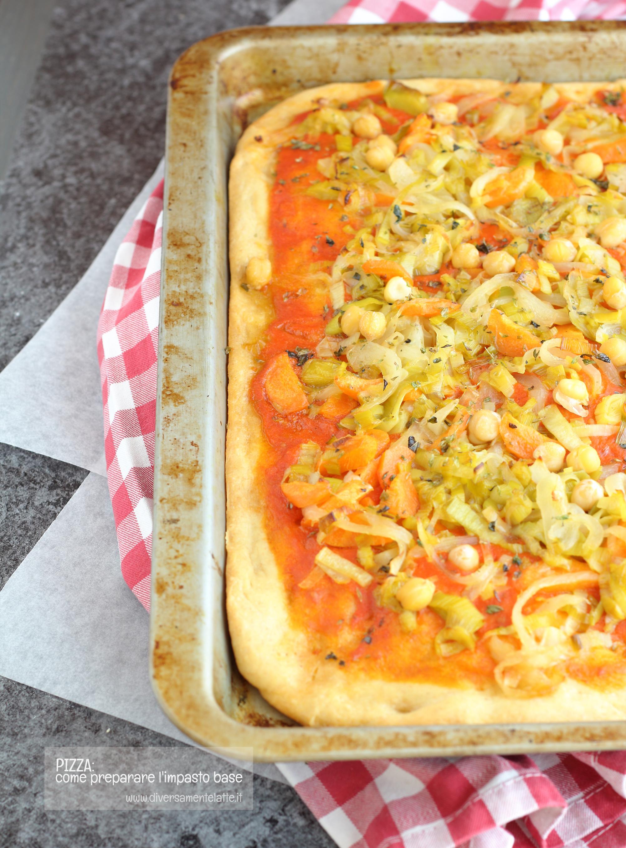 pizza farcita pronta