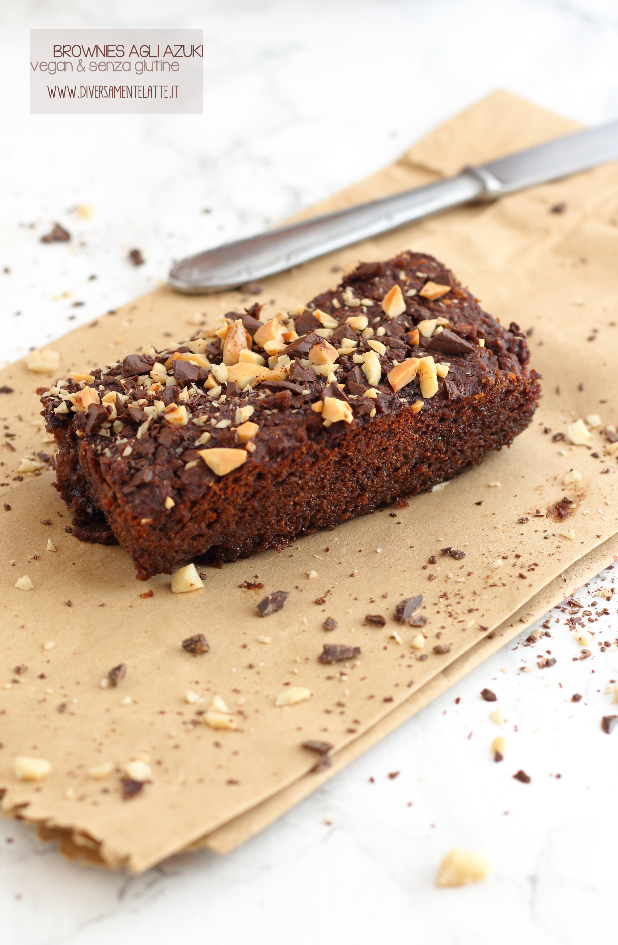 brownies vegan azuki