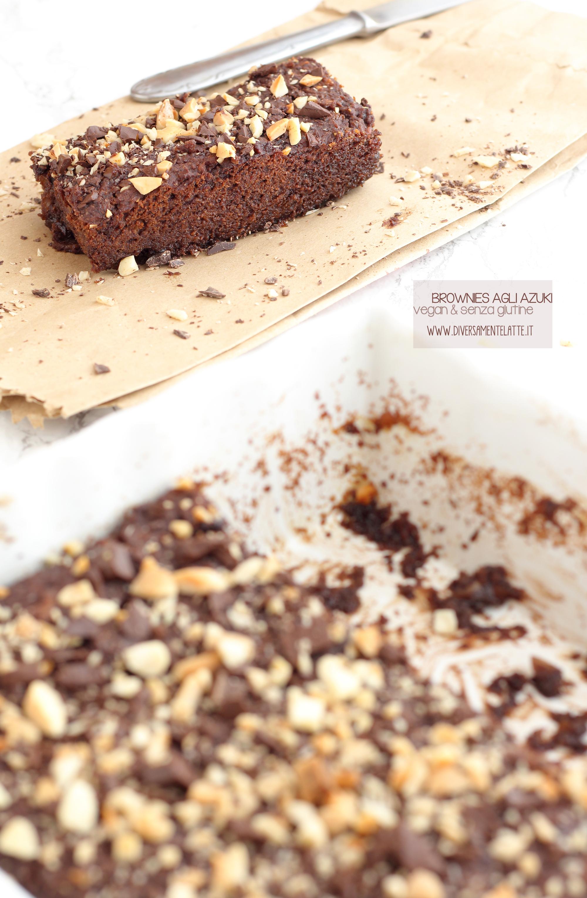 brownies vegan senza glutine