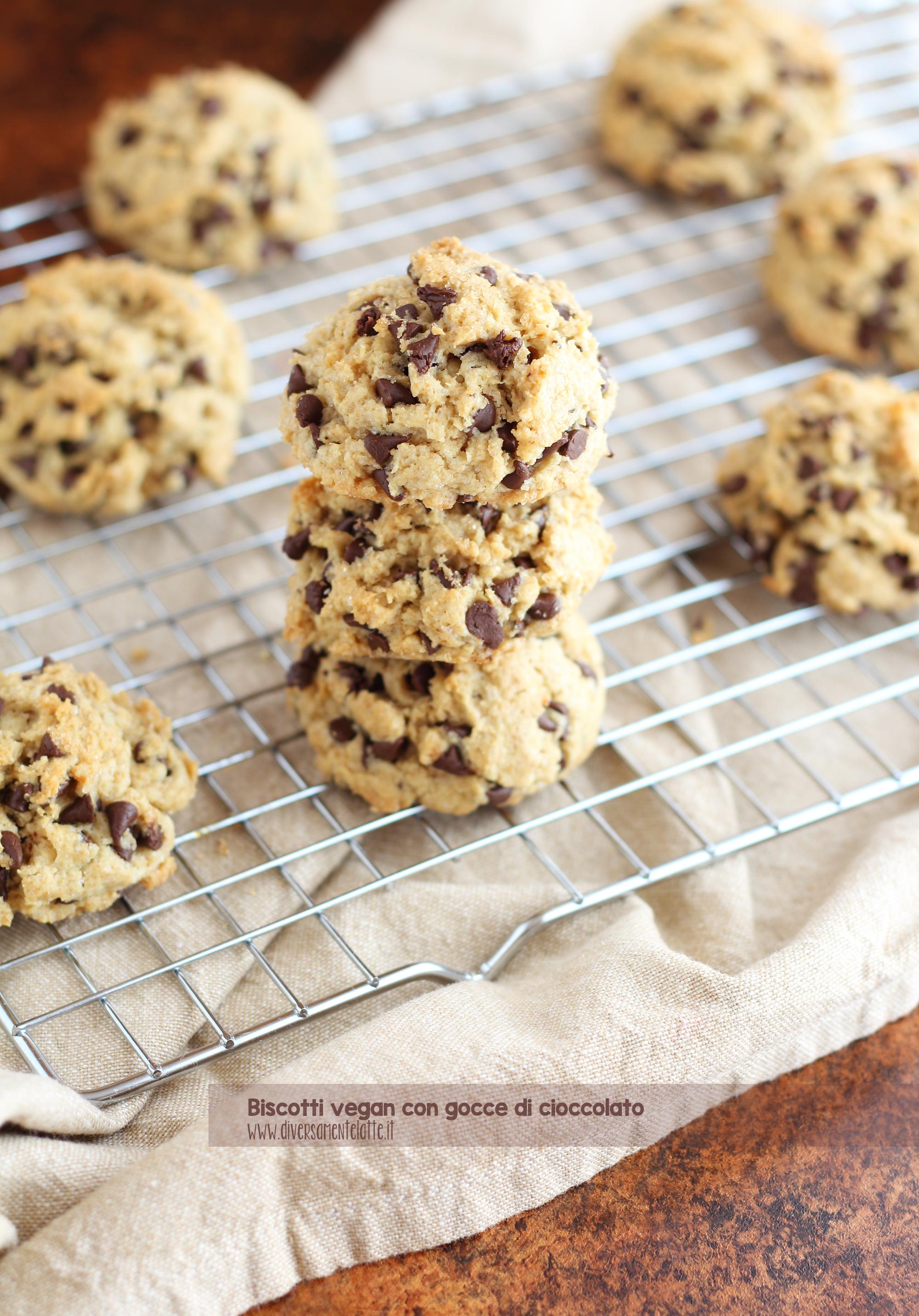 biscotti cioccolato senza burro