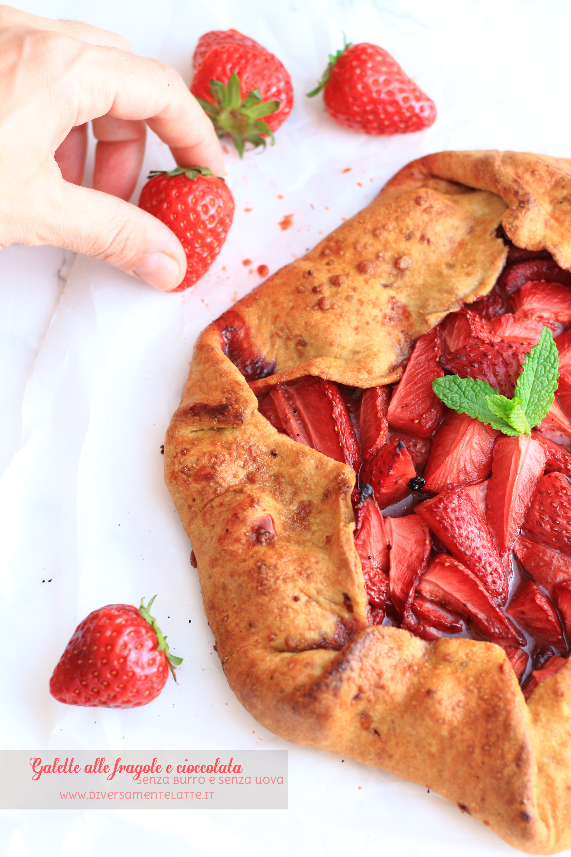 galette fragole