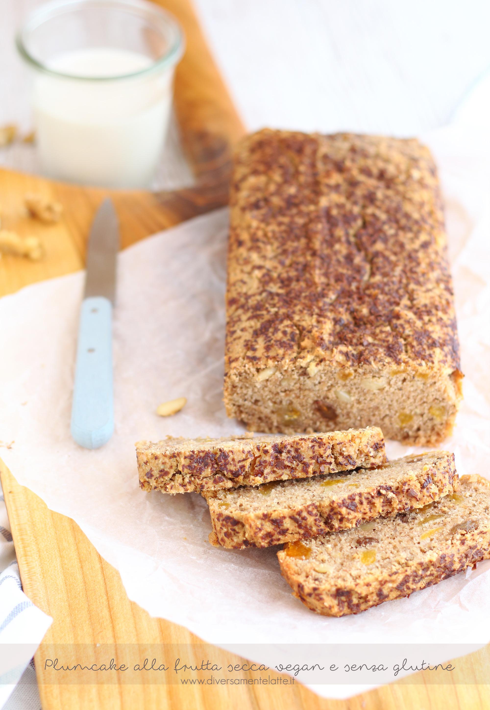 plumcake vegan senza glutine