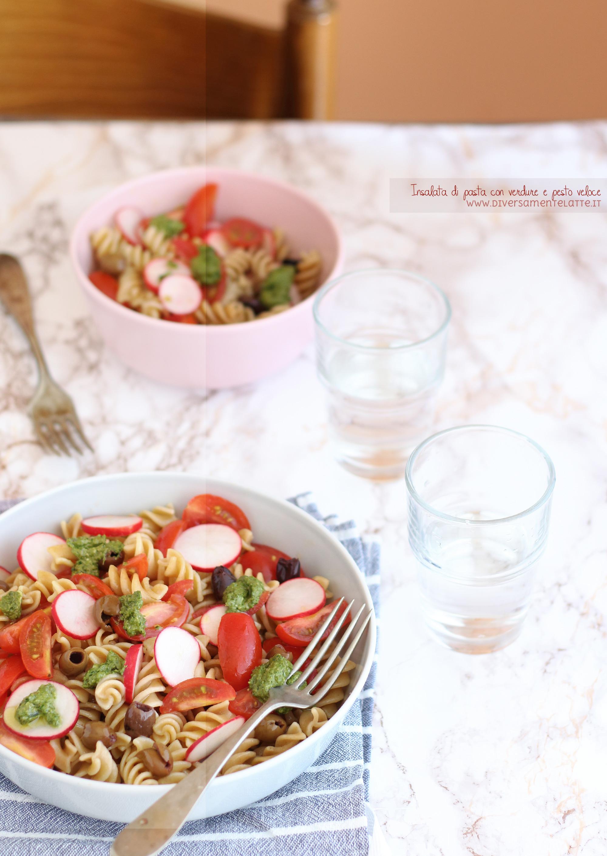 insalata di pasta estiva
