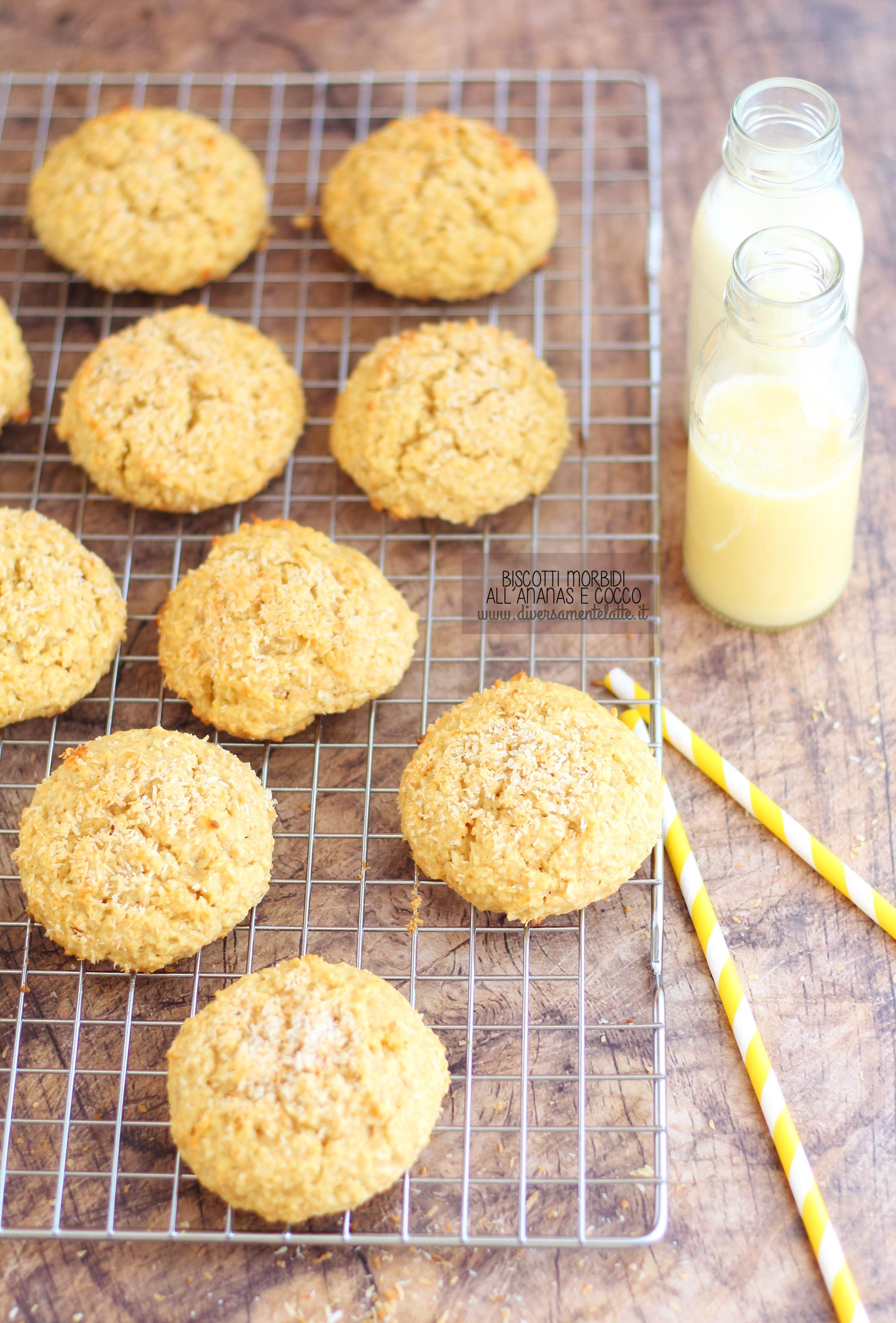 biscotti ananas e cocco