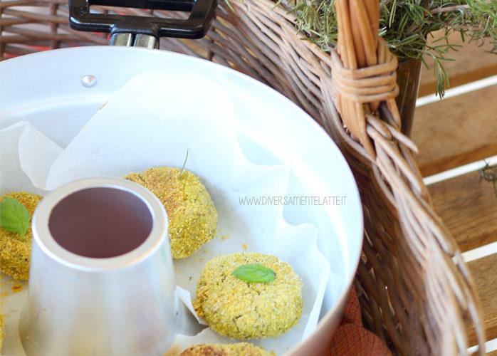 Crocchette di legumi nella pentola fornetto