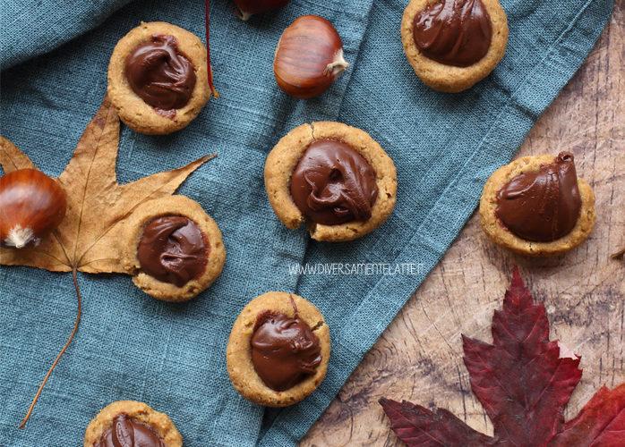 Biscotti con avocado al posto del burro, ripieni di cioccolato