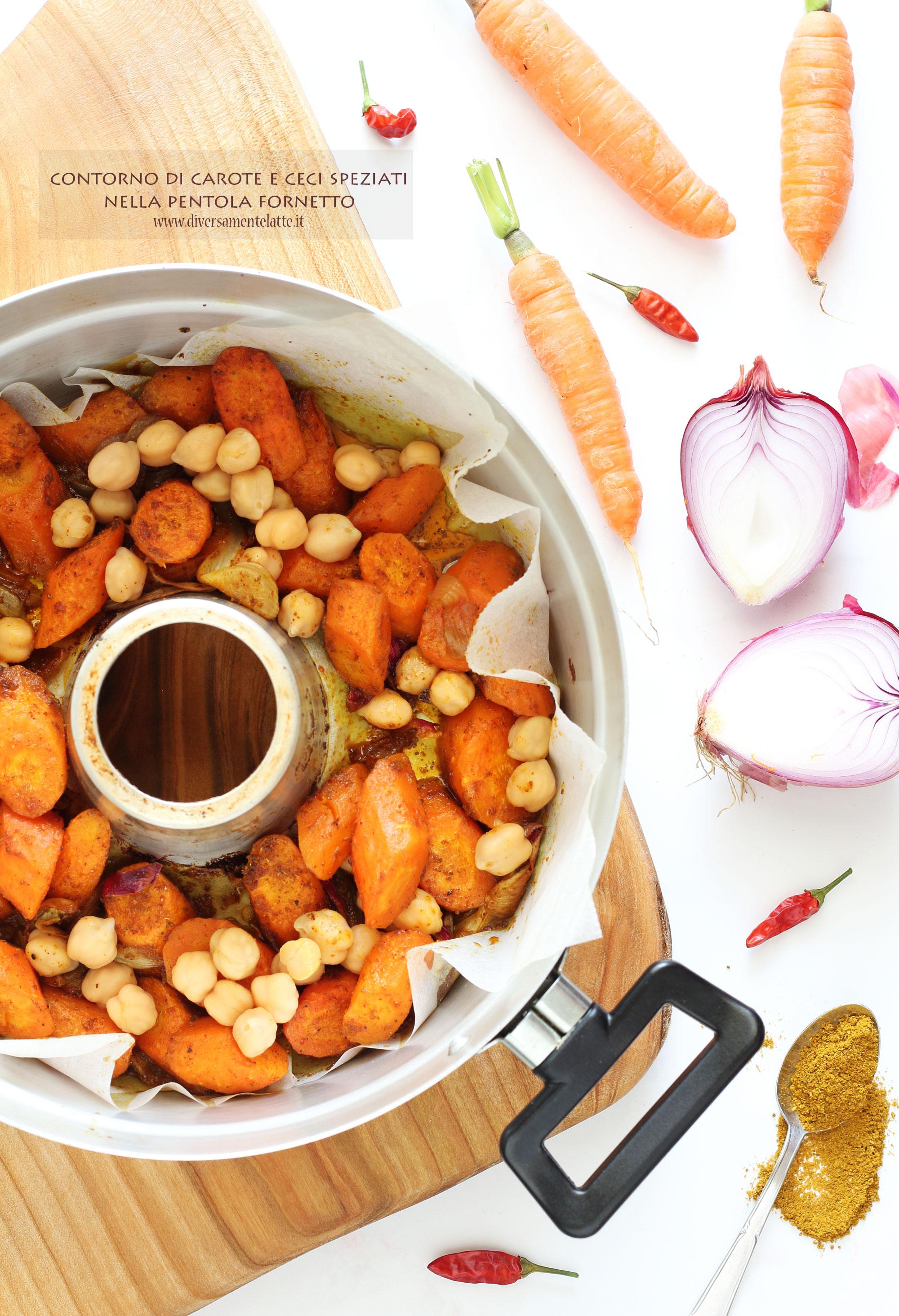 carote e ceci speziati