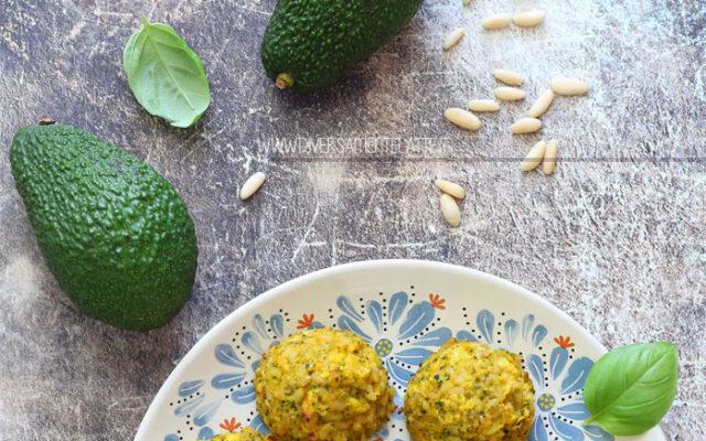 Polpette di riso integrale, zucca e broccoli
