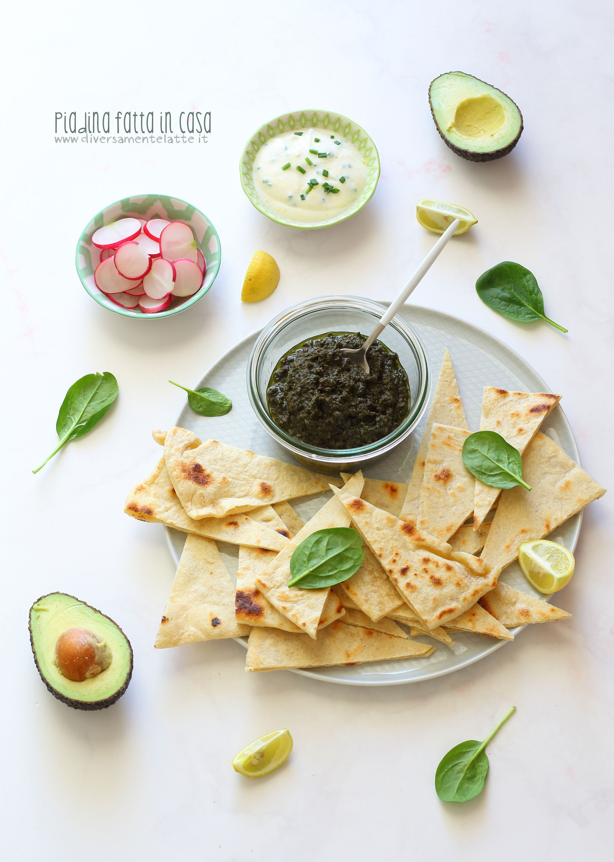 piadina ricetta per bambini