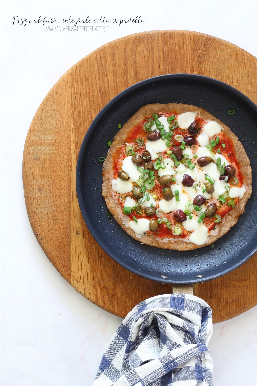 pizza al farro integrale veloce