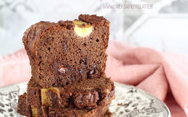 Banana bread al cioccolato senza glutine