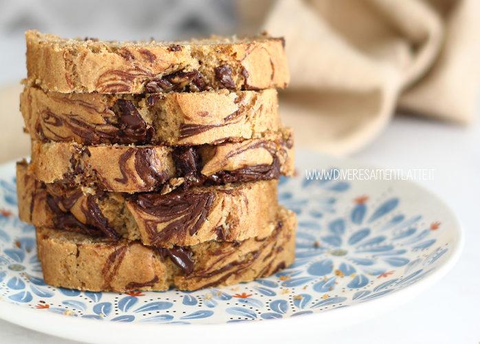 Plumcake con cioccolato senza latticini