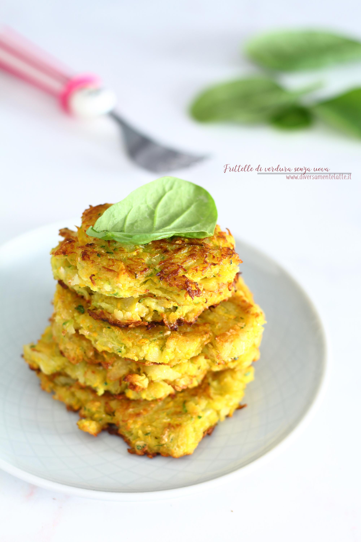 frittelle di verdura senza uova
