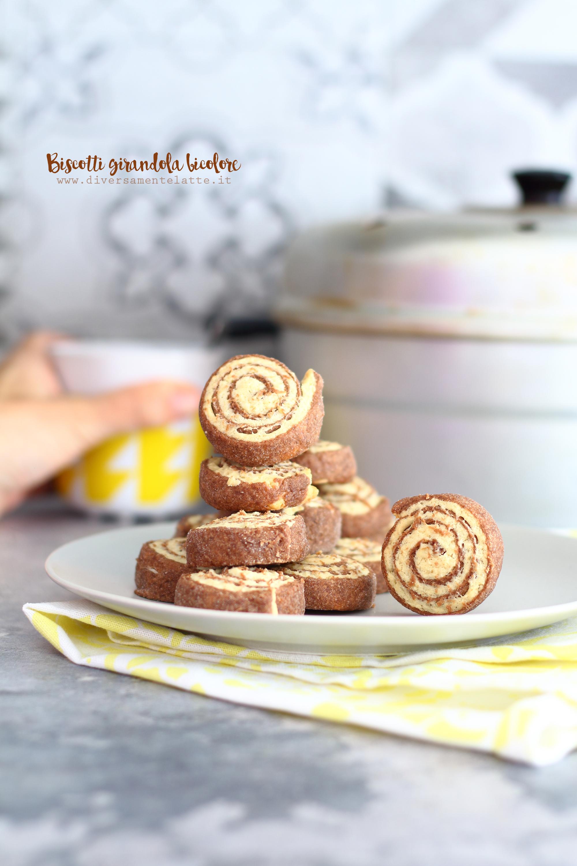 biscotti girandola bicolore