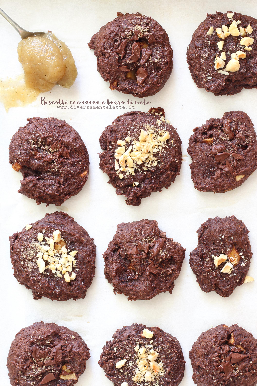 biscotti cacao e burro di mele