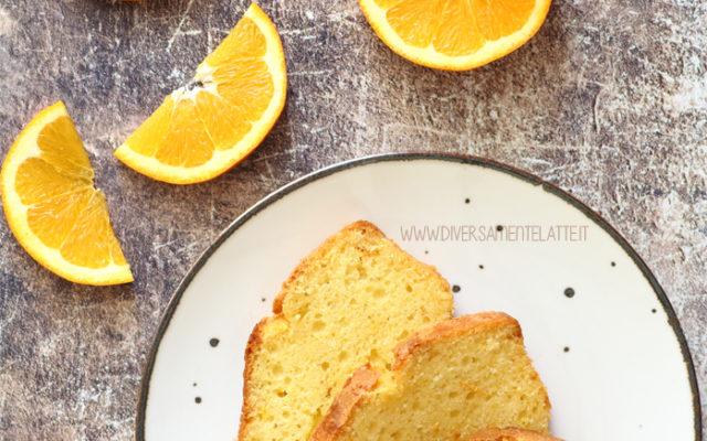 Plumcake all'arancia senza burro, ricetta facile