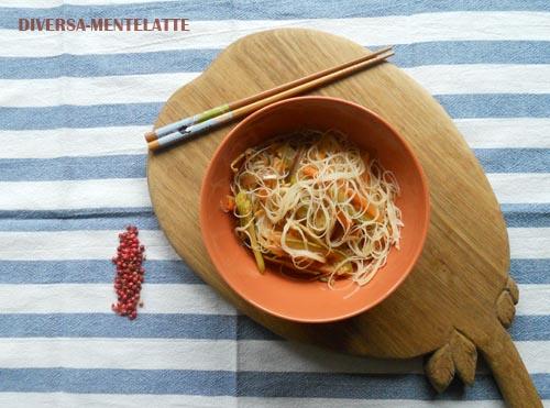 Vermicelli di riso alla sichuan