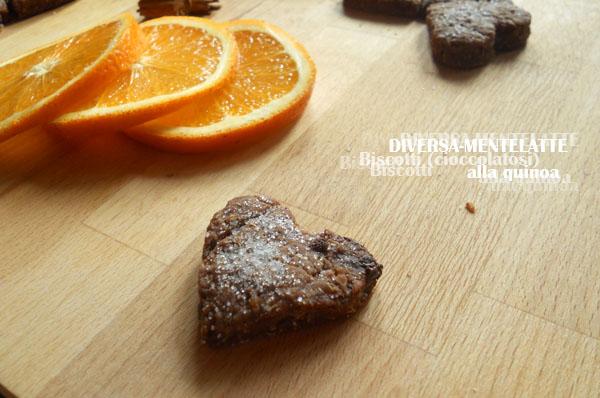 Biscotto quinoa e cioccolato