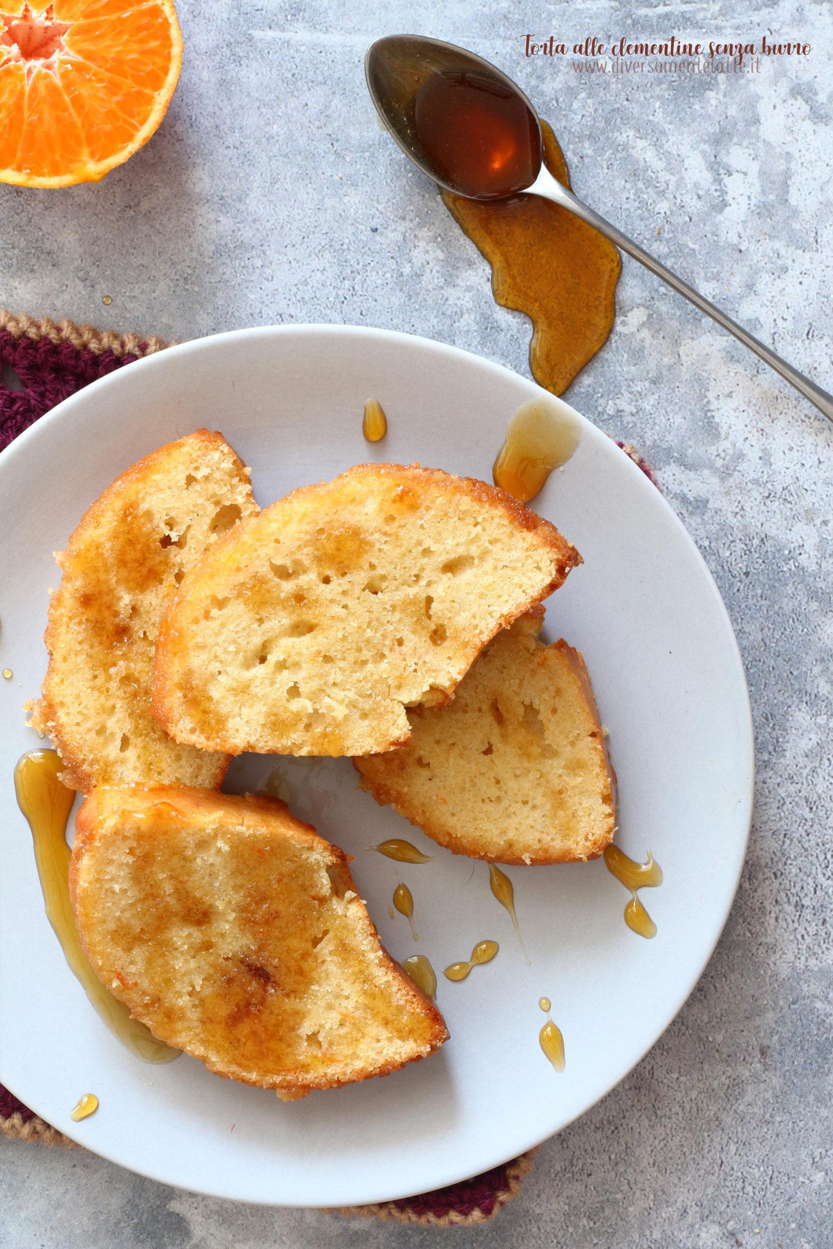 torta alle clementine senza burro