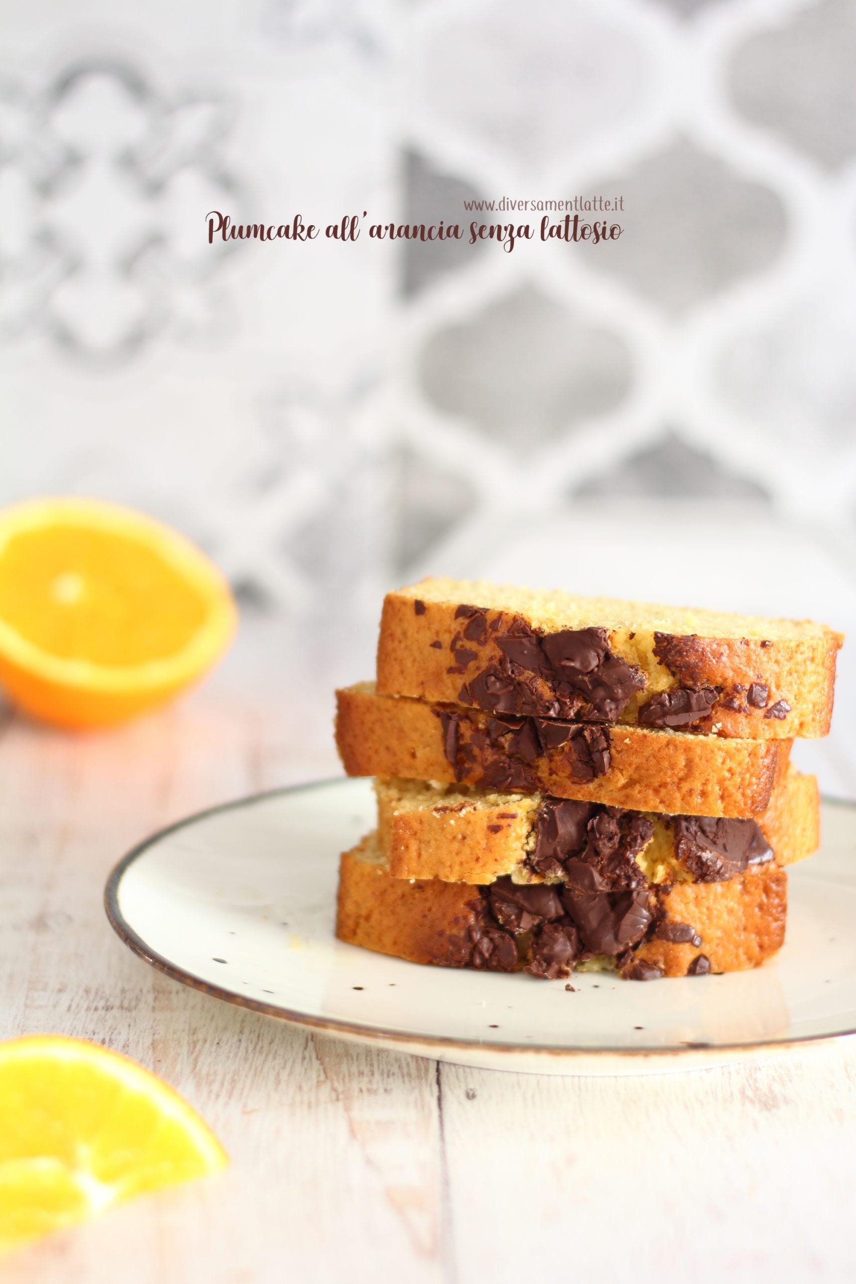 plumcake arancia