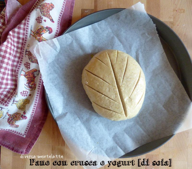 Pane con crusca con tagli