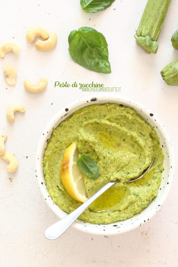 pesto di zucchine facile