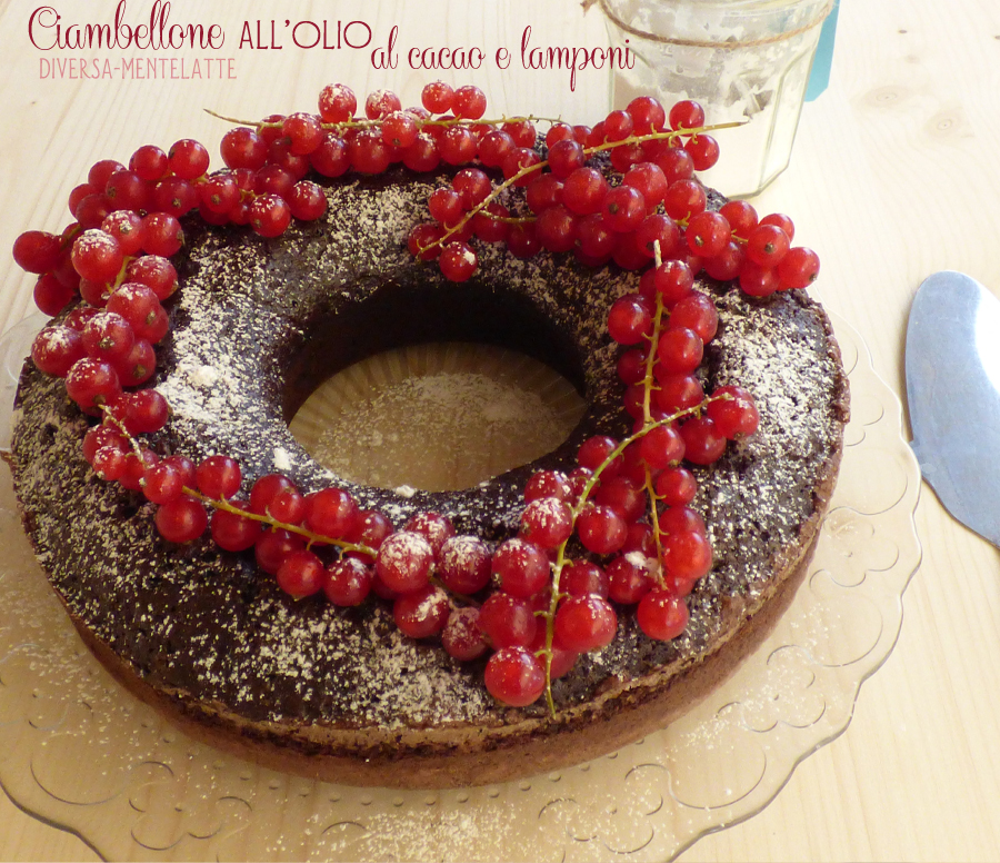 Ciambellone all'olio