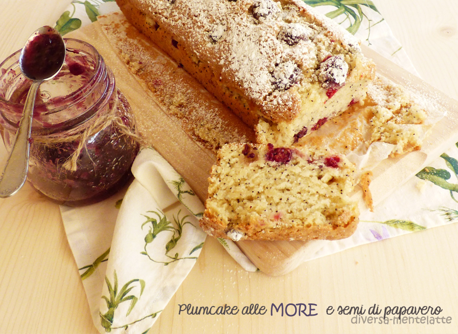 plumcake more semi di papavero