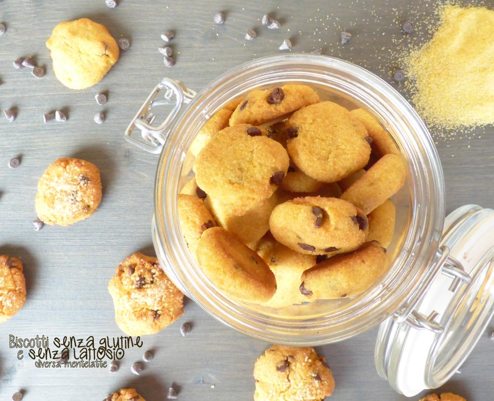biscotti senza glutine senza lattosio