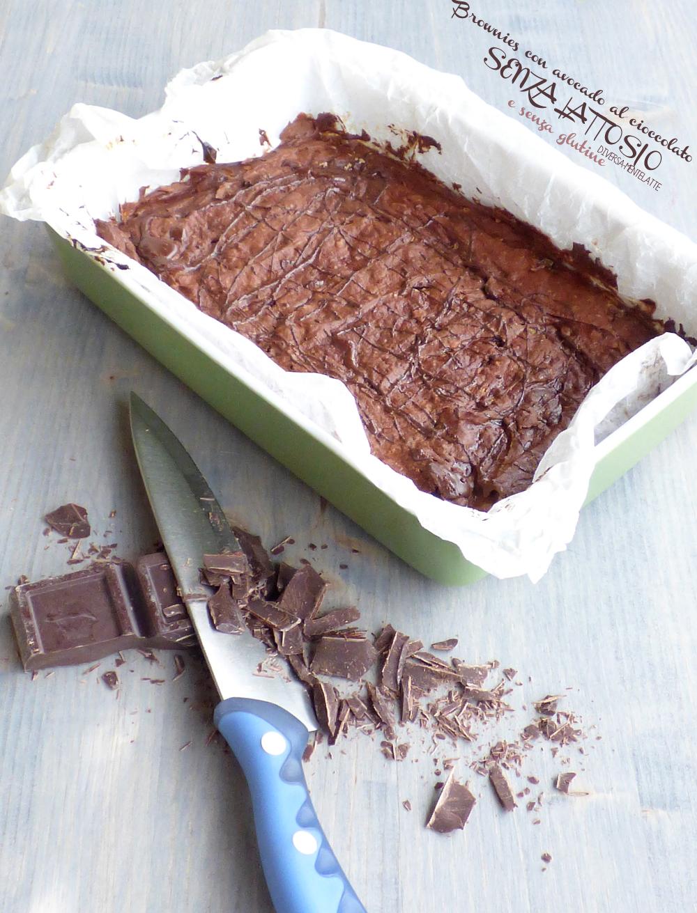brownie appena sfornato