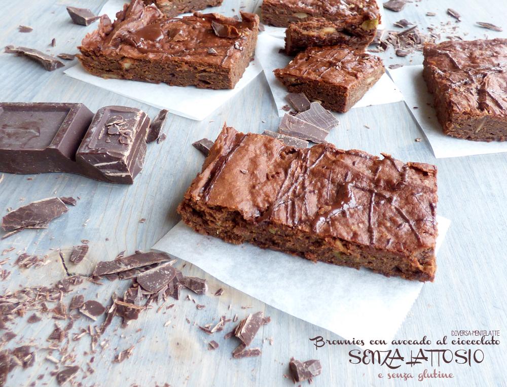 brownies senza lattosio e senza glutine